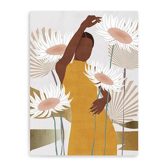 Sun Kissed Woman Ii Giclee Canvas Art