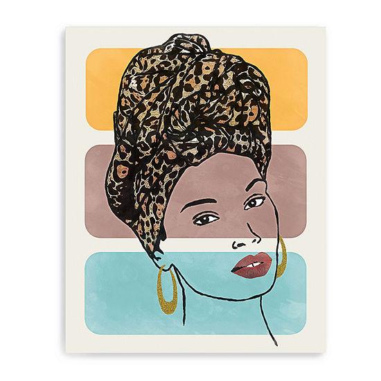 Head Wrap 1 Giclee Canvas Art