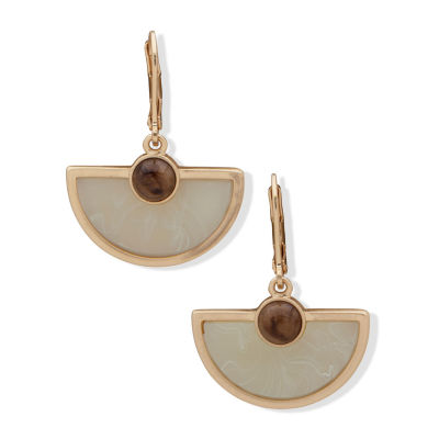 a.n.a Tiger's Eye Drop Earrings