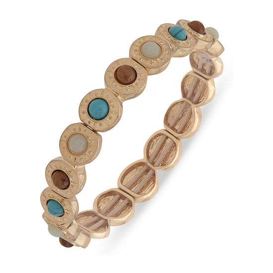 a.n.a Semi Precious Tiger's Eye Stretch Bracelet