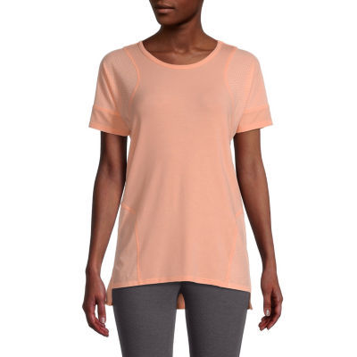 Xersion Womens Round Neck Short Sleeve T-Shirt