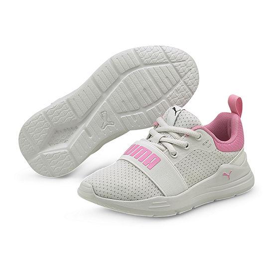 Puma Wired Little Kids Girls Running Shoes