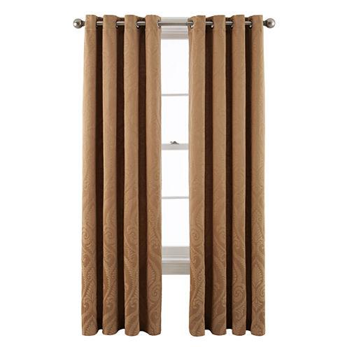 Royal Velvet® Whittier Grommet-Top Curtain Panel