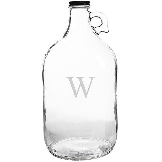 Cathy's Concepts Personalized Glass Beer Growler