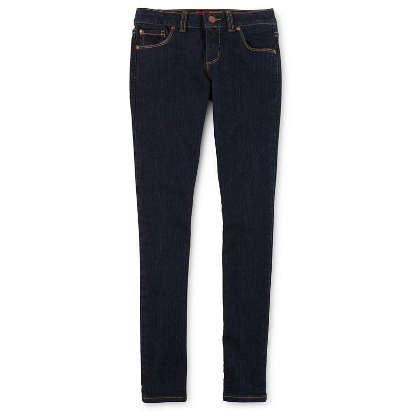 Arizona Skinny Jeans - Girls 6-16,  Slim and Plus plus size,  plus size fashion plus size appare