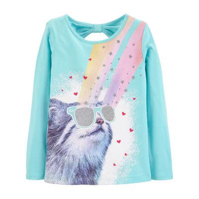 Carter's Graphic T-Shirt Open Back Top - Preschool Girl