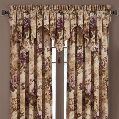 Queen Street Grechen Rod-Pocket Tailored Valance