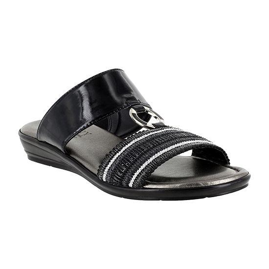 Easy Street Womens Sonnet Flat Sandals