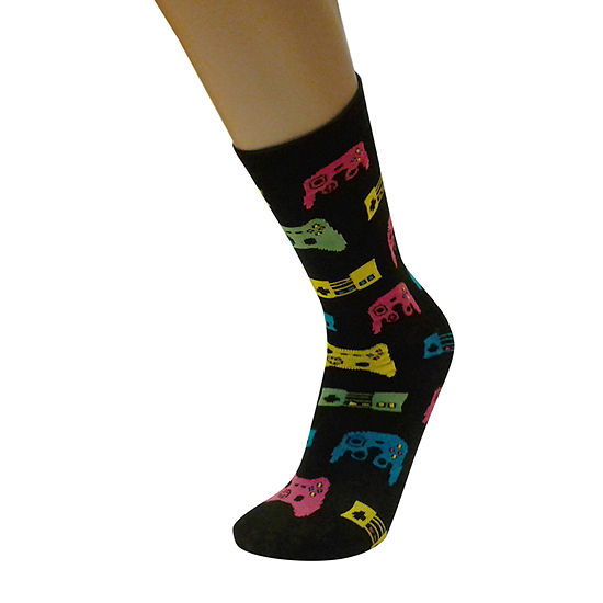 Games 1 Pair Crew Socks - Mens