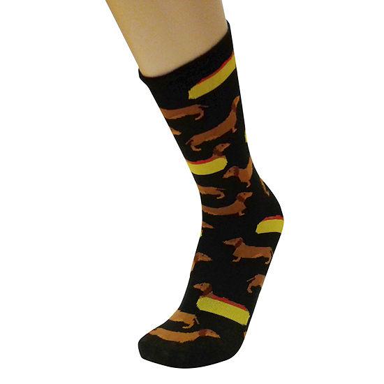 Hot Dog 1 Pair Crew Socks - Men's