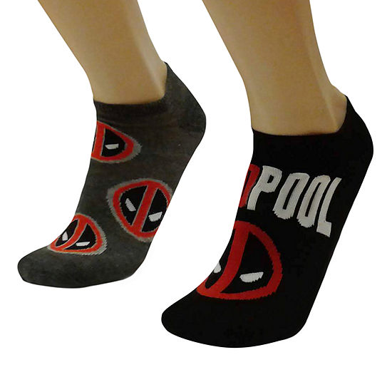 Marvel Deadpool 2 Pair Crew Socks - Men's