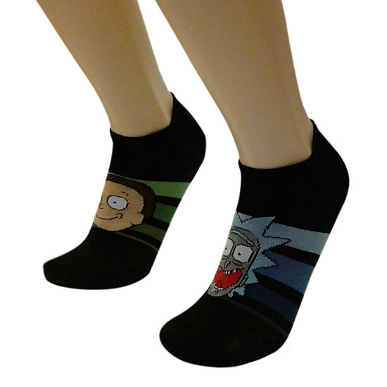 Rick and Morty 2 Pair Crew Socks