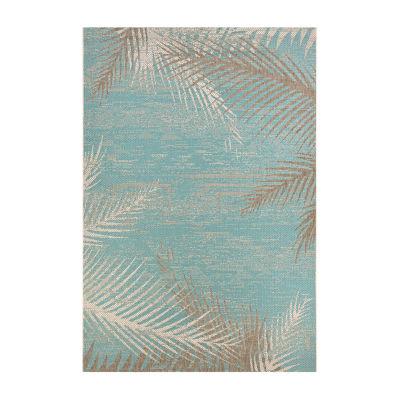 Couristan Tropical Palms Rectangular Indoor/Outdoor Rugs