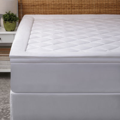 Allied Home Luxe Diamond Quilted Mattress Pad