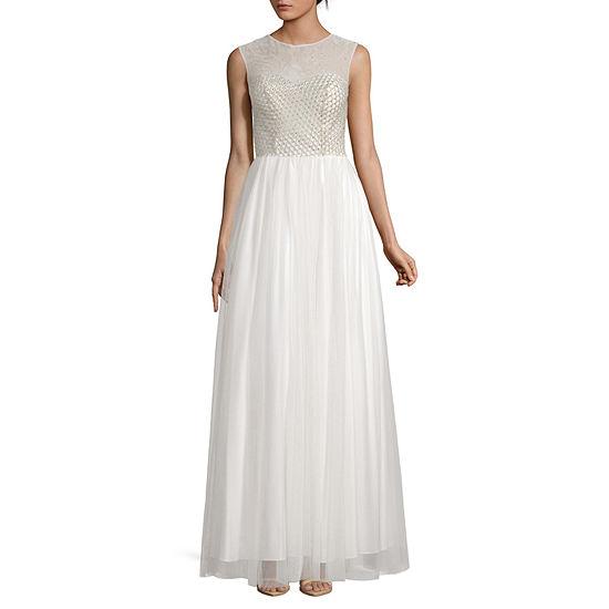 My Michelle Sleeveless Ball Gown-Juniors