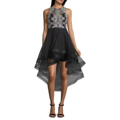 Speechless Sleeveless Embellished Party Dress-Juniors