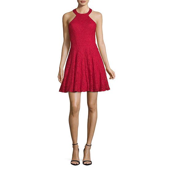 B. Smart Sleeveless Party Dress-Juniors