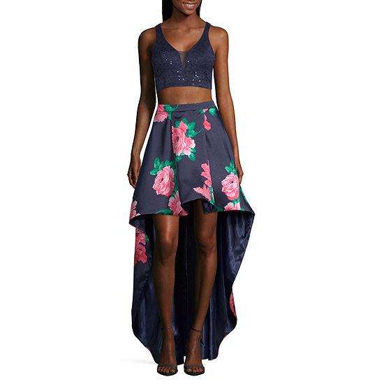 B. Smart-Juniors Sleeveless High-Low Dress Set