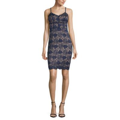 B. Smart Sleeveless Bodycon Dress-Juniors