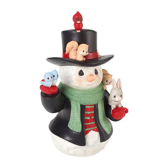 Precious Moments Snowman Figurine
