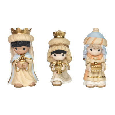 Precious Moments 3-pc. Hand Painted Nativity Set