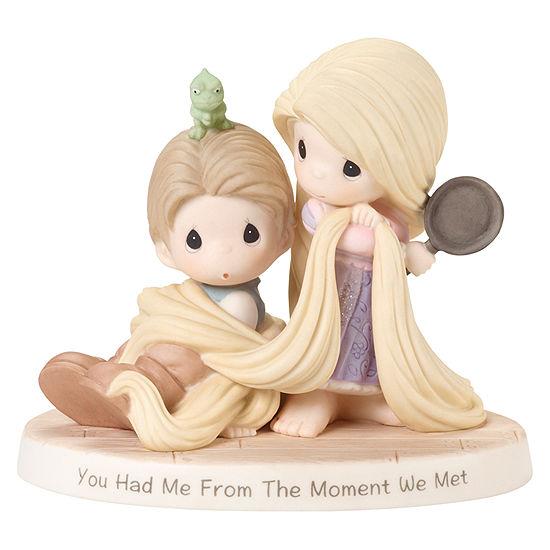 Precious Moments Rapunzel And Flynn Tabletop Decor