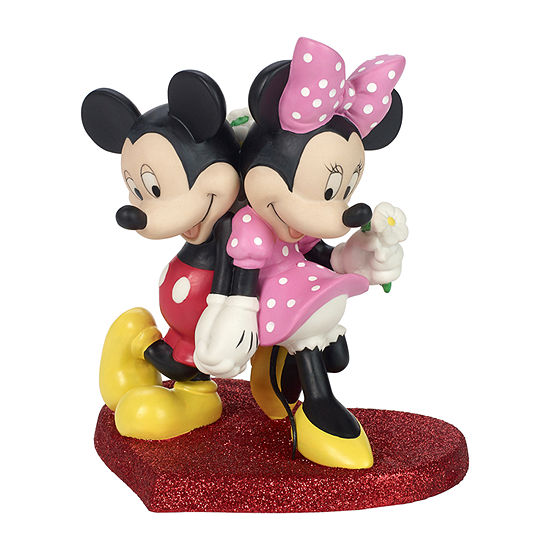 Precious Moments Mickey And Minnie Mickey Mouse Tabletop Decor