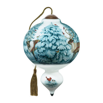 Precious Moments Santa Christmas Ornament