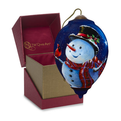 Precious Moments Precious Moments 2018 Holiday Snowman Christmas Ornament