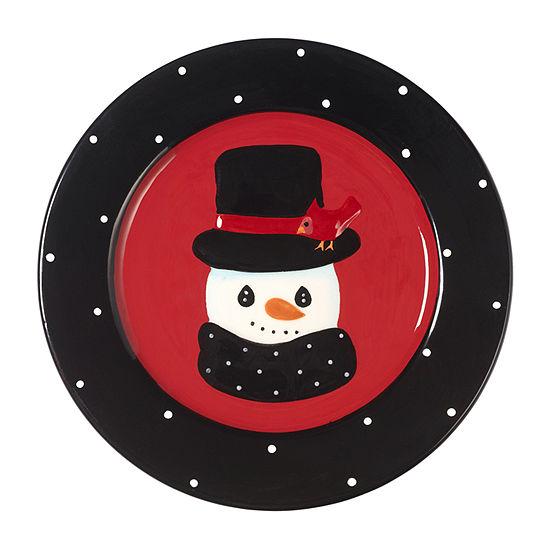 Precious Moments 2018 Holiday Snowman Tabletop Decor