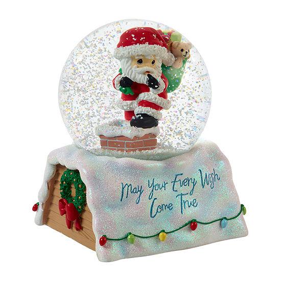 Precious Moments Santa Snow Globe