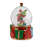 Precious Moments Elves Snow Globe