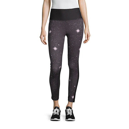 Xersion Hw Printed 7/8 Legging Womens High Waisted Skinny Legging