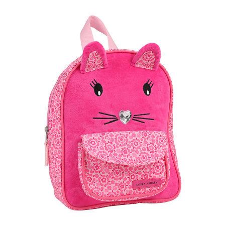 Laura Ashley Girls Animal Backpack, One Size , Pink