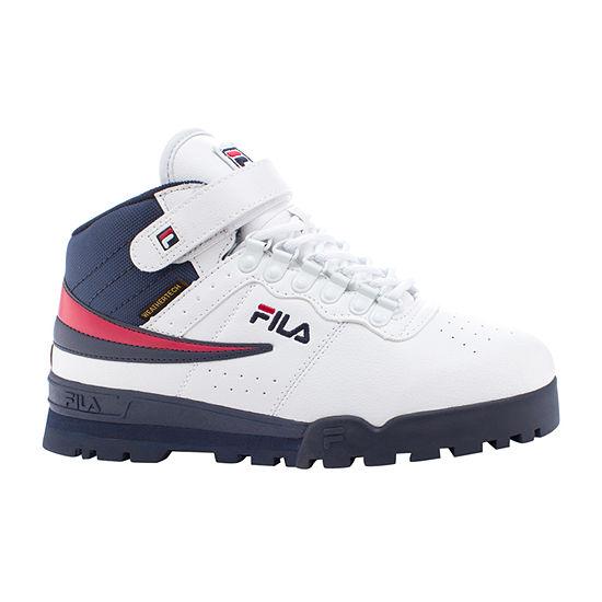 Fila Mens F-13 Weather Tech Flat Heel Hiking Boots