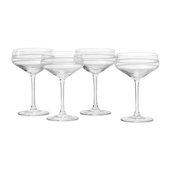 Crafthouse By Fortessa Tritan Coupe 4-pc. Martini Glass