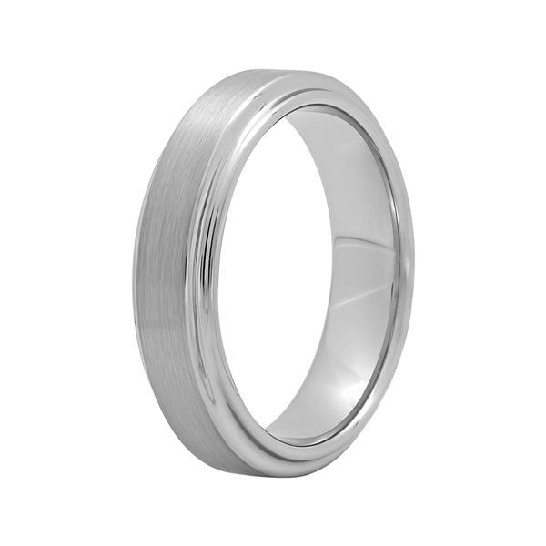 Men's 6mm Comfort Fit Titanium Wedding Band
