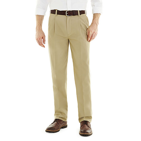 St Johns Bay Worry Free Pleated Pants
