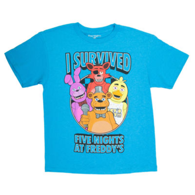 Five Nights at Freddys Graphic T-Shirt-Big Kid Boys