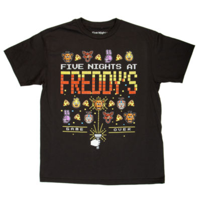 Five Nights at Freddys Graphic T-Shirt-Big Kid Boys
