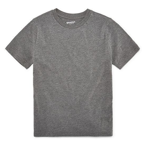 Arizona Boys Crew Neck Short Sleeve T-Shirt Preschool / Big Kid Husky