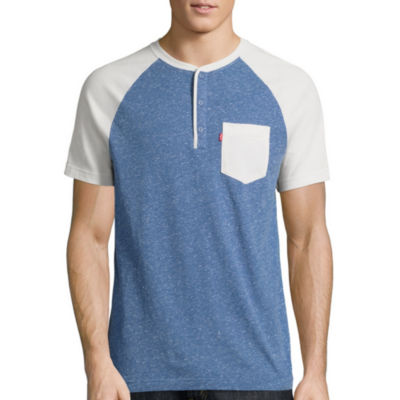 Levi's® Landon Short Sleeve Henley Shirt