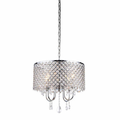 Warehouse Of Tiffany Deluxe Crystal Chandelier