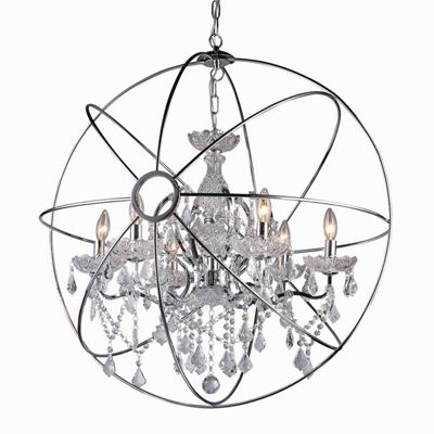 Warehouse Of Tiffany Saturn's Ring 22-inch Chandelier