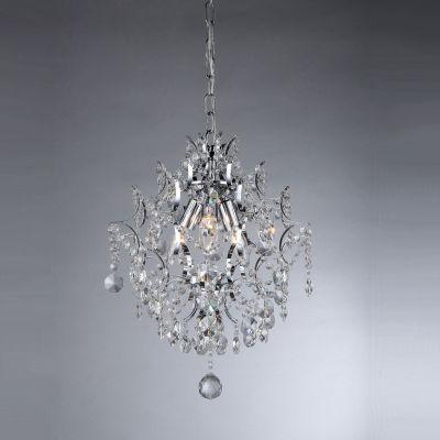 Warehouse Of Tiffany 3-light Crystal Chandelier