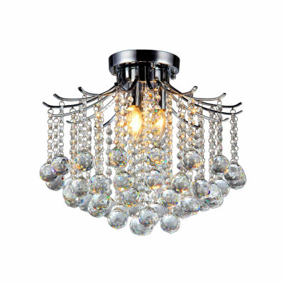 Warehouse Of Tiffany Crystal Jewel Chandelier