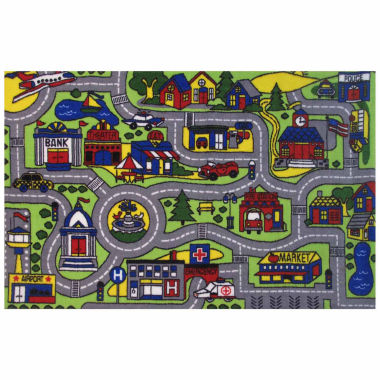 Driving Fun Rectangular Rugs