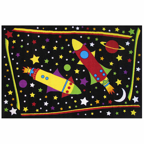 Outer Space Rectangular Rugs