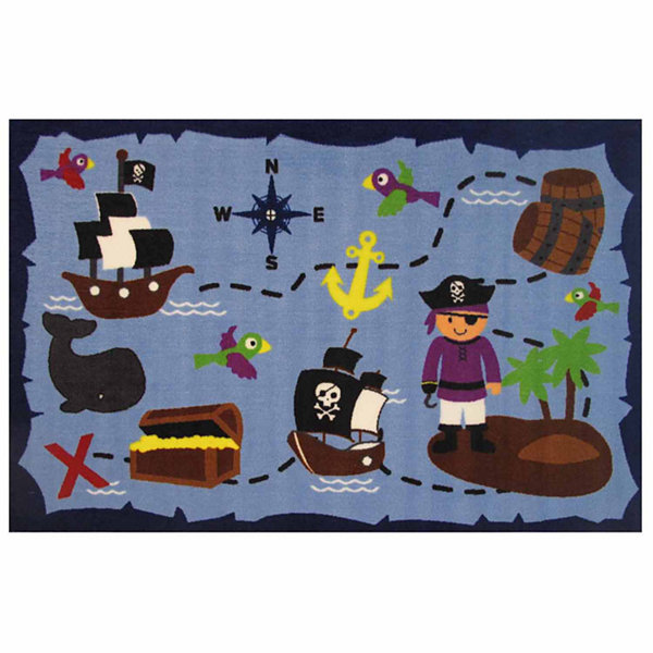 Ahoy Matey Rectangular Rugs