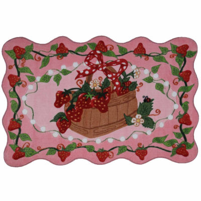 Strawberry Patch Rectangular Rugs
